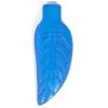 Bone Leaf Pendant 37x14mm Turquoise Worked On Bone